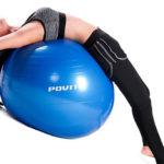 Фитбол: лучшие упражнения для спины